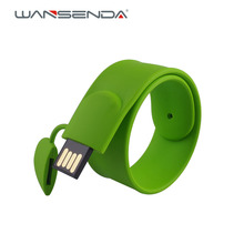 Multi-color Bracelet Wrist Band usb flash drive 4GB 8GB 16GB 32GB 64GB Pen Drive U disk Memory Stick Card Disk Pendrive