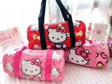 Cartoon Hello Kitty Melody Doraemon Twin Star Handbags Women Travel Bags Girls Shoulder Bag Big Capacity Travel Bag canvas Tote