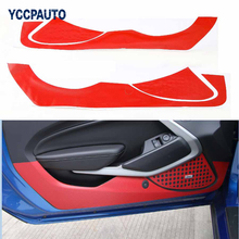 Buy Car Styling Ford Mustang 2015 2016 Car Interior Door Side Anti Kick Carbon Fiber Stickers Styling Cover Accessory 2pcs/set for $16.92 in AliExpress store