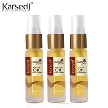 3 bottle Morocco Argan Oil Scalp Frizzy Dry Hair keratin Repair Treatment hair care keratin hair straightening Moist smooth hair(China)