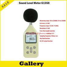 Prevent noise earplugs transistor tester dosimeter metal detector soud level meter gm1358 noise maximum locked a / c weighting(China)