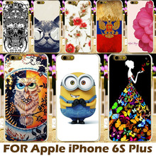 Top Selling DIY Painting Design Hard Plastic Cases For iPhone 6S Plus Case Apple iPhone6S Plus Phone Cover Protective Sleeve