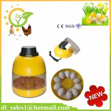 chicken egg incubator sale CE approved family type holding 10 chicken eggs mini egg incubator(China)