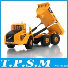 Alloy Toy Engineering Car Models Dump-car Dump Truck Artificial Model Classic Toys For Boy Child