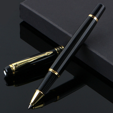2017 Rushed Canetas Boligrafos New 1501 Fountain Pen Ball 0.5mm Meduim Nib Metal Golden Color Sign Pens Free Shipping