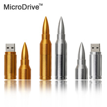 New  8G 16G 32G 64G usb flash drive pen drive bullet shape usb flash drive usb stick memory stick U Thumb Freshipping