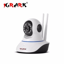 IGRARK 1.0MP 720P CCTV Camera HD IP Camera WI-FI Wireless Home Security Camera Plug And Baby Monitor Night Version Indoor Camera(China)