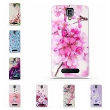 TPU Gel Soft Case for Lenovo A1000 A2800 Case New Arrival Flowers Friuts Painted Phone Skin Case Cover For Lenovo A 1000 2800(China)