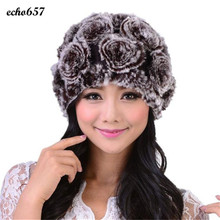 Hot Sale Women Caps Echo657 New Fashion Women Winter Hats Handmade Warm Caps Female Beanies Headgear Dec 22(China)