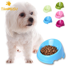 Pets Anti-skid Bottom Bevel Bowl for Pets Puppy Small Dogs Cat Feeder Bowl Pets Small Animal 2016 New Designer Feeding Bowl(China)