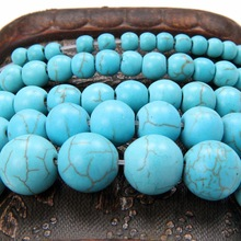 Fashion New Top Quality  Round Natural Green  Beads for Jewelry Making 4 6 8 10 12 MM