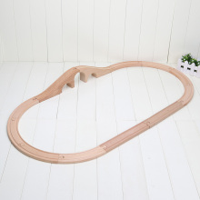 12pcs/set Vehicles Kids Toys train Toy Model Cars wooden puzzle Building slot track Rail transit