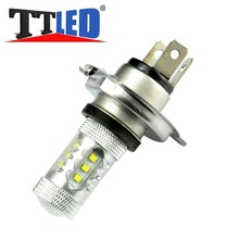 TRICOLOUR 40X Xenon led H4 30w 50w 60w 80w high power 6000k Led lamp Auto FOG light Car Fog Driving Head DRL Bulbs #TJ27