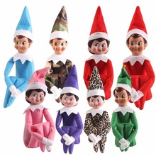 The Elf Shelf Plush Dolls toys  soft book Newest Christmas Gift Boy Girl Figure  A Christmas Toys Xmas Decor
