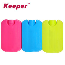 Mini HDPE ice bottle cooler bags box blue ice ice sheet 150ml blue red yellow Can be used repeatedly maryshop Wheatgrass boxes
