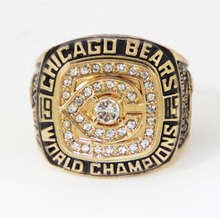 Factory Direct Sale 1985 Chicago Bears Super Bowl Football Championship Ring(China)