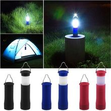 1pcs Home Party Tools Waterproof Portable 3W LED Camping Light Lamp Zoomable Retractable Tent Light AAA Battery