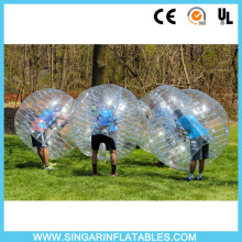 Free shipping 0.8mm PVC 1.8m diameter indoor bubble soccer,giant inflatable ball,bubble football for big heavy players