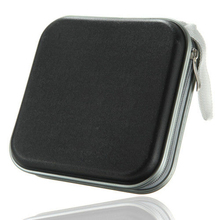 10 X 40 CD DVD Disc Storage Carry Case Cover Holder Bag Hard Box - Black