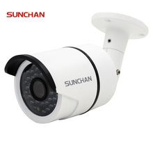 SunChan High Quality AHDH Camera 1080P 2.0MP 36 IR LED Night Vision Waterproof Camera Outdoor CCTV Camera w/Bracket