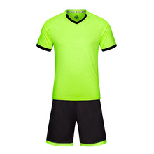 2017 New Soccer Jerseys Set Youth Kids Survetement Kits Boys Training Suit Maillots De Football Quick Dry Diy Print