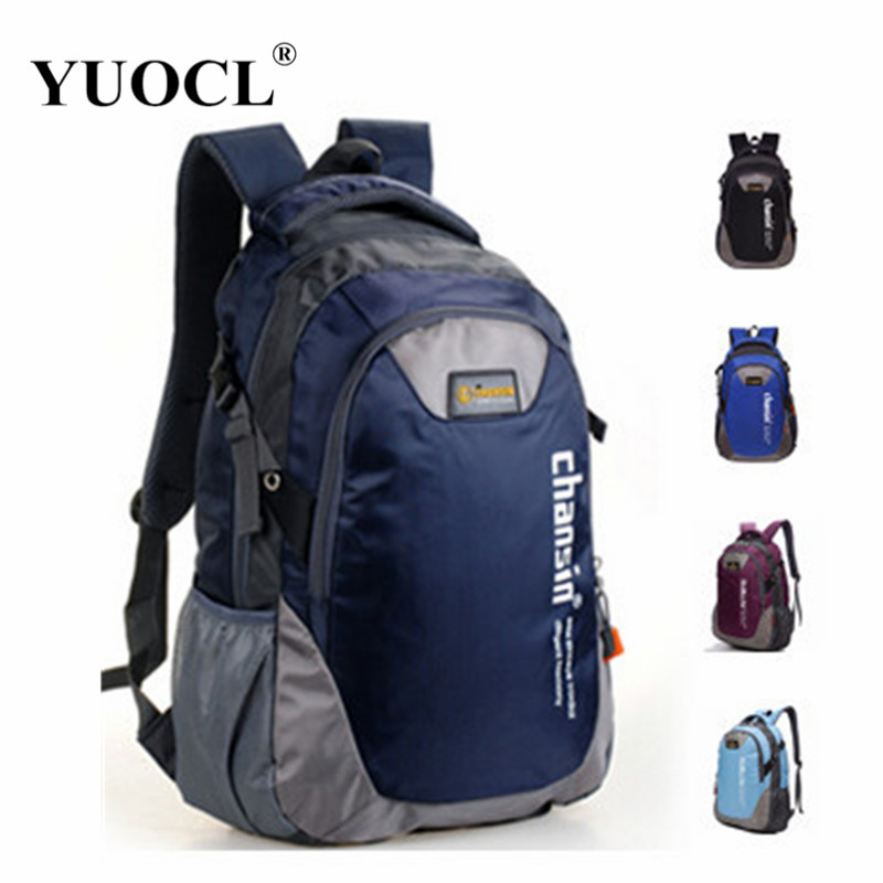 YUOCL fashion casual double-shoulder travel backpack for women school bags for teenagers printing men backpack sac a dos<br><br>Aliexpress