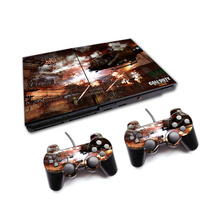 Vinyl Skin Sticker Protector For Sony PS2 PlayStation 2 and 2 Controller Skins Stickers For PS2 Console Skin Stickers Vinyl(China)