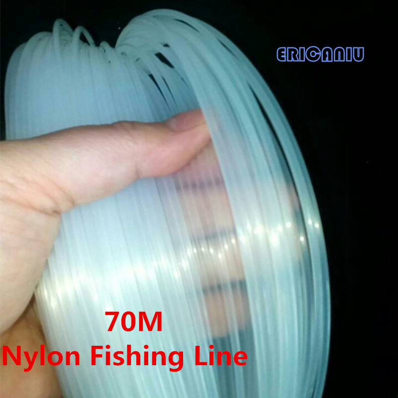 37-291LB 70M 0.70-2.0mm Nylon Fishing Line 2017 Hot Super Strong Monofilament Nylon Line Good for Boat FishingKastKin(China (Mainland))