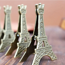 5 pcs/lot Effiel Tower Paris Metal Memo Paper Clips for Message Decoration Photo Office Supplies Accessories Free Shipping(China)