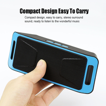 Mini SC208 Bluetooth 4.0 Wireless Speaker TF SD Card USB FM Radio Dual Bluetooth Speaker Bass Sound Subwoofer Speakers Wholesale
