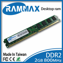 New sealed Desktop Memory Ram 2GB DDR2 LO-DIMM 800Mhz PC2-6400 240pin/CL6/1.8v high compatible with all brand motherboards of PC