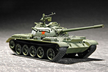 TRUMPETER  07285   1/72  CHN Type 59 Main Tank   Assembly Model kits scale model  3D puzzle vehicle model