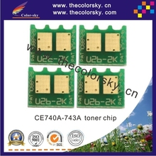 (CS-DH5520) toner laser printer reset chip for HP Color LaserJet CP-5525 CP-5525n CP-5525dn CP-5525xh CP 5525xh bkcmy free dhl(China)