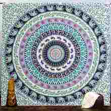 Beach Towel Wall Hanging Tapestries Indian Mandala Tapestry Boho Bedspread Yoga Mat Blanket Table Cloth Home Decoration