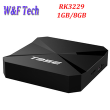 10pcs T95E 4K Quad core Android 6.0 RK3229 Android tv set top box 3D 4K 1080P Full HD Media Player 1GB 8GB 2G 16G Smart tv box
