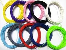 100 meters 10 Colour Mixed Colour Waxed Polyester Cord String Thread twisted  craft decorative rope jewelry accessories DIY