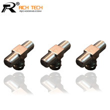 SIZE 1:2 F PLUG WHOLESALE 3PCS/LOT F MALE TO 2F JACK CONNECTOR GOOD QUALITY INTERNATIONAL STANDARD CHEAP