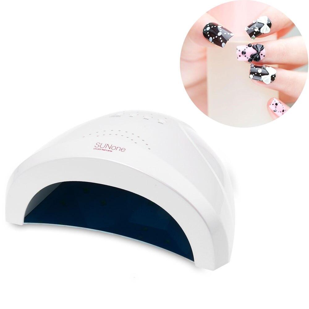48W LED UV Light Nail Dryer White Lamp Multi-function Electric Gel Nail Polish Dryer Lamp Manicure Machine   <br>