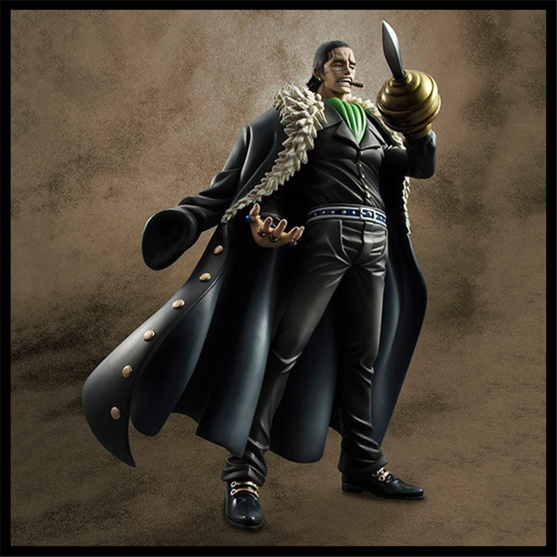 Japan One Piece New World  Anime Figuarts Zero Sir Crocodile Action Figure PVC Boxed Model 10th Anniversary Limited Edition 0152<br><br>Aliexpress
