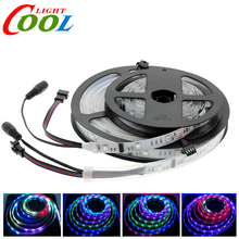 6803 Dream Magic Color 5050  Digital LED Strip DC12V 30LED/m IP67 Waterproof Intelligent LED Strip 5M