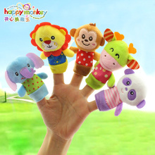0M+ Cute Mobile Infant Baby Toy Finger Puppet Early Educational Toy Doll Hand Development jouet juguetes
