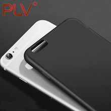 PLV Phone Case For iphone 5 5S 6 6S 6 Plus 7 7 Plus Matte Phone Case For  iphone 5 5S 6S 6Plus 7 7 Plus Dustproof And Dropproof