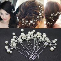 Wholesale 10PCS/Lot New Arrival Wedding Bridal Accessory Jewelry For Women,Pearl Hair Pins Hair Clips Bridesmaid Jewelry XHP051