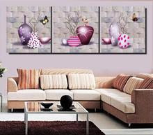3d wallpaper custom mural non-woven wall stickers Hd fashion vase branches imitation stone frameless painting 3d mural wallpaper(China)
