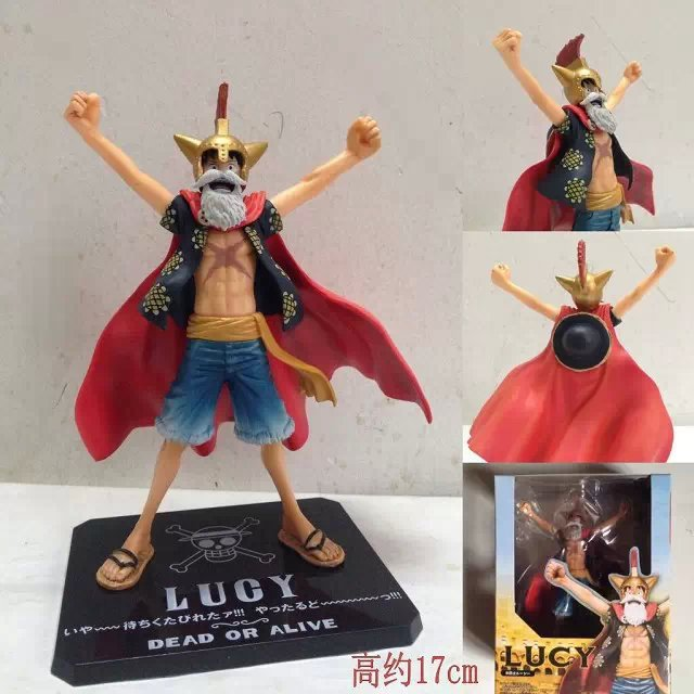 Figuarts ZERO One Piece Dead or Alive Lucy Monkey D Luffy PVC Action Figures Collectible Model Toy Doll 17CM<br><br>Aliexpress