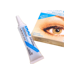 professional duo eyelash glue 9g, anti-sensitive hypoallergenic individual false eyelashes glue duo white