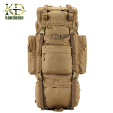 2017 Hot 70L Big Capacity Waterproof Nylon Military Tactical Backpack Camping Hiking Huntin Climbing Army Rucksack Sport Bag