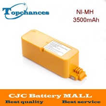 High Quality 14.4V 3500mAh Ni-MH Vacumm Cleaner Batteries For iRobot Roomba 400 405 410 415 416 418 4000
