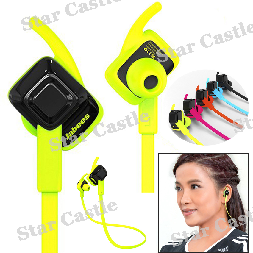 New Style Jabees Beating Sport Waterproof Headset  Wireless Bluetooth 4.1 IPX4 Sports Earphone Headphone With Microphone 5 Color<br><br>Aliexpress