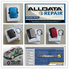 v10.53 alldata mitchell on demand + vivid workshop data 3in1 hdd 750gb auto repair software for car and truck
